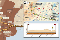 Etapa 1: motos y cuatris: 2010-01-02, Buenos Aires a Córdoba