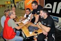Abordando en Le Havre: David Casteu y su equipo