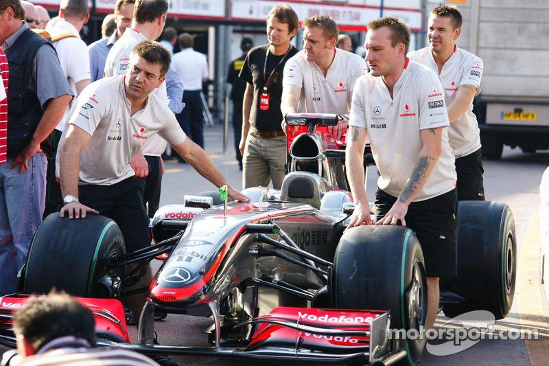 McLaren Mercedes team