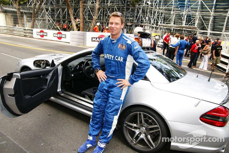 Bernd Maylander, pilote de la voiture de sécurité FIA F1 et GP2