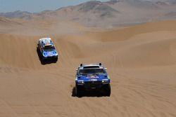 #300 Volkswagen: Giniel De Villiers y Dirk Von Zitzewitz, #312 Volkswagen: Mauricio Neves y Clecio M