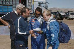 Peter Utoft, Kris Nissen, Nasser Al Attiyah et Timo Gottschalk