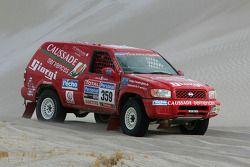 #359 Nissan: Frédéric Chavigny en Jean Brucy