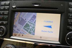 GPS in the #940 Mercedes-Benz R-Class media car