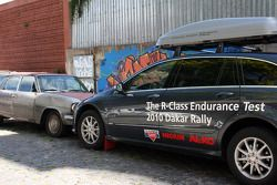 Mercedes-Benz R-Class media car in Buenos Aires