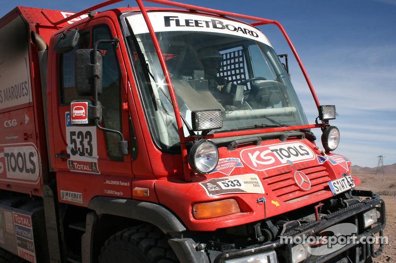 #533 Mercedes: Thomas Wallenwein y Serge Cabiro