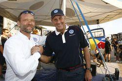 Kris Nissen en Hans Stuck