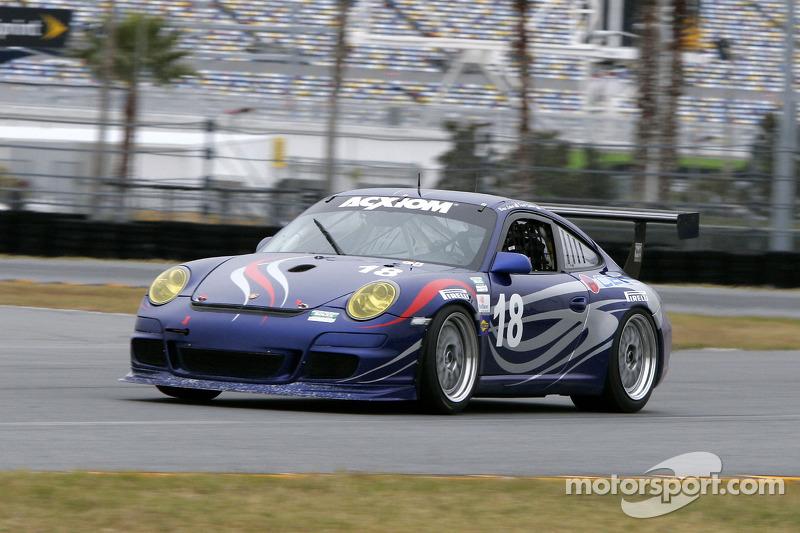 #18 TRG/ Guardian Angel Porsche GT3: Peter Bassett, Bob Doyle, Travis Hill, Bruce Ledoux, David Quin