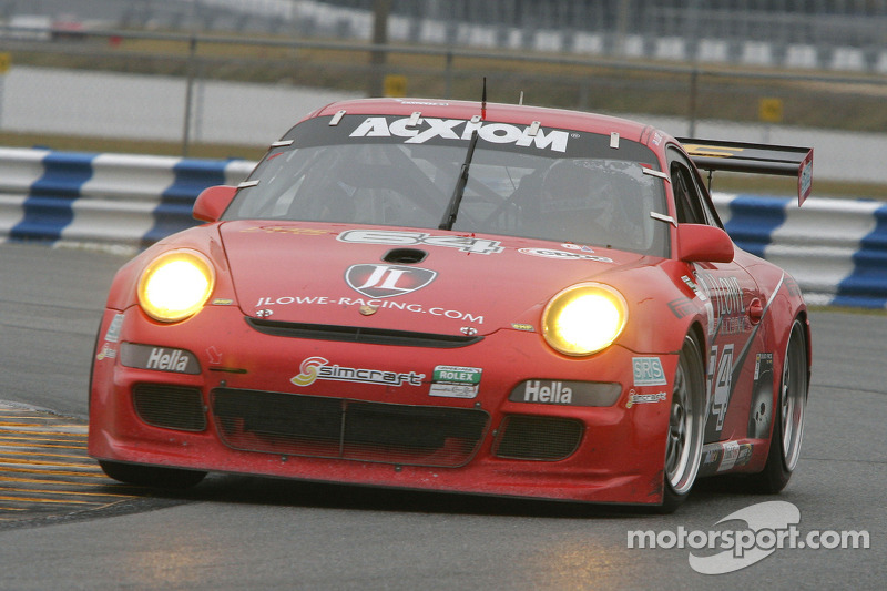 #64 JLowe Racing Porsche GT3: Jim Lowe, Eric Lux, Jim Pace, Tim Sugden, James Walker
