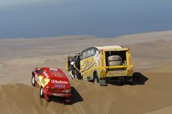 #342 Nissan: Jean-Pierre Strugo e Yves Ferri, #506 Liaz: Martin Macik, Josef Kalina, Jan Bervic