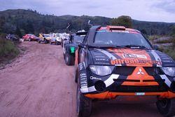 #309 Mitsubishi: Miroslav Zapletal and Tomas Ourednicek