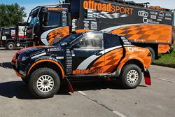 #309 Mitsubishi de Miroslav Zapletal y Tomas Ourednicek