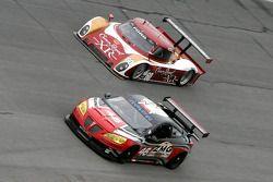 #46 Autohaus Motorsports Pontiac GXP.R: Romain Ianetta, Shane Lewis, Richard Zahn, #60 Michael Shank
