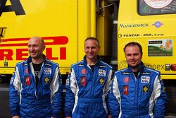 Milan Holan, Miskolci Jaroslav et Ales Loprais