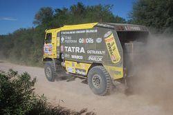 #502 Tatra: Ales Loprais, Milan Holan y Miskolci Jaroslav