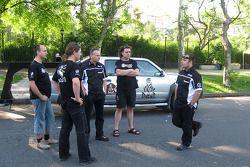 Ales Loprais with his team