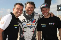 Michael Pisano, Ludovic Boinnard en David Casteu
