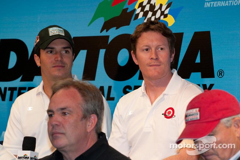 Chip Ganassi Racing persconferentie: Memo Rojas en Scott Dixon