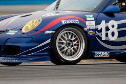 #18 TRG/ Guardian Angel Porsche GT3: Peter Bassett, Bob Doyle, Travis Hill, Bruce Ledoux, David Quinlan