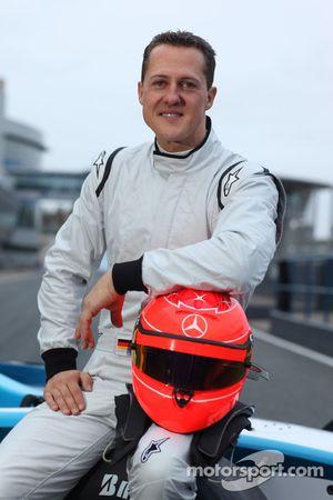 Michael Schumacher test GP2 wagen