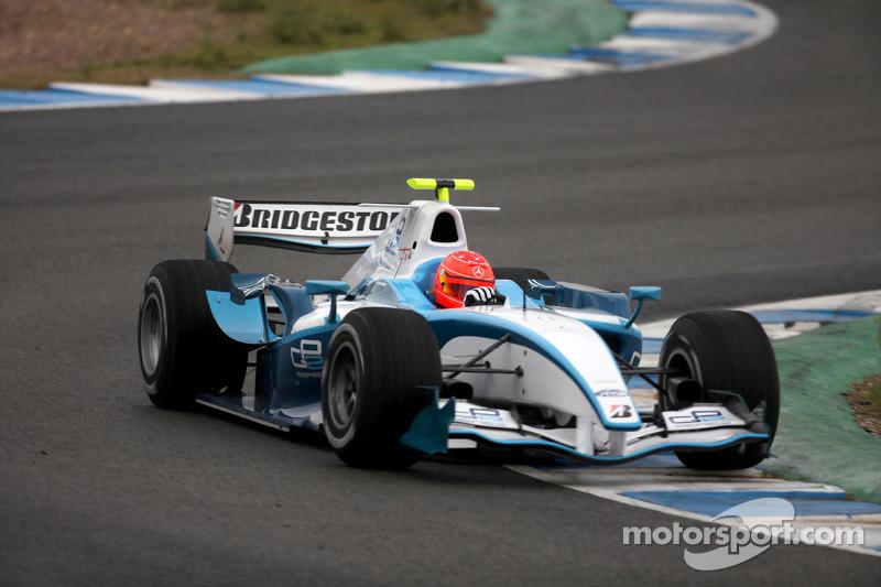 2010: GP2 test
