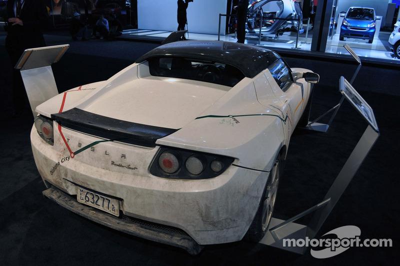 La Tesla Roadster conduite de Los Angeles à Détroit