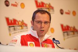 Conferencia de prensa de Stefano Domenicali