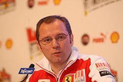 Stefano Domenicali basın toplantısı
