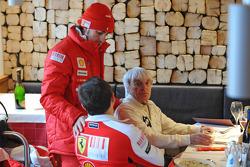 Fernando Alonso con Bernie Ecclestone