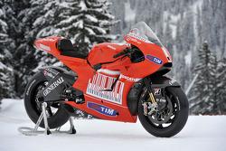 The new Ducati Desmosedici GP10