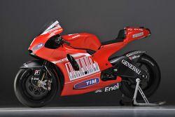 La nueva Ducati Desmosedici GP10