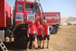 #529 Mercedes: Sylvain Besnard, Emmanuel Wisman y Laurent Lichtleuchter