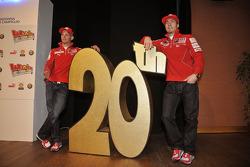 Casey Stoner y Nicky Hayden