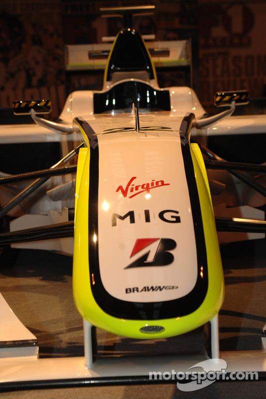 Nez de la Brawn GP de Jenson Button