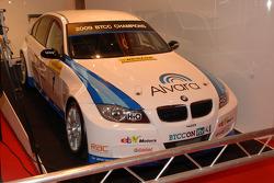 Colin Turkington WSR BTCC auto met nieuwe sponsors
