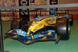 La macchina di Fernando Alonso vincitrice del campionato di F1 2005, Renault F1 2005