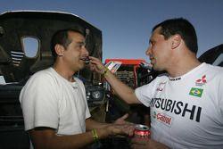 Carlos Sousa en Guilherme Spinelli
