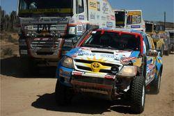 #423 Toyota: Amilcar Rubinetti Cristian and Kent Walter