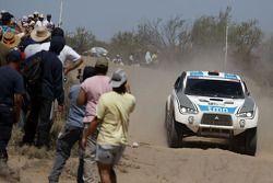 #314 Mitsubishi: Carlos Sousa en Matthieu Baumel