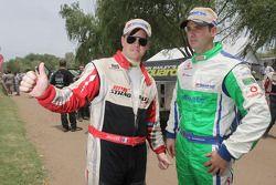 Nicolas Misslin y Miguel Barbosa