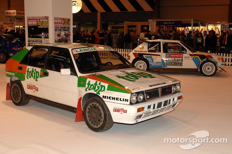 Lancia et Peugeot Rallye Car