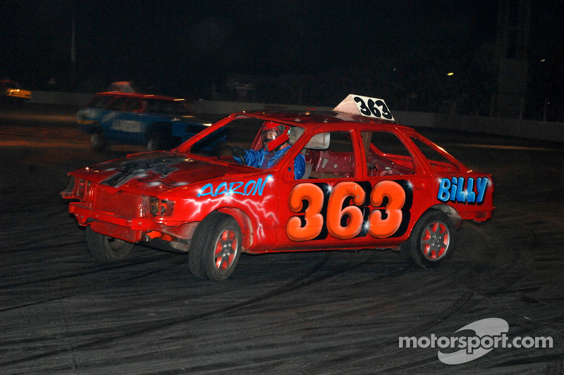 Banger Racing in Live Action Arena at Autosport ...