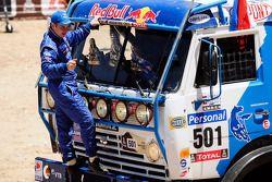 Trucks podium: Eduard Nikolaev
