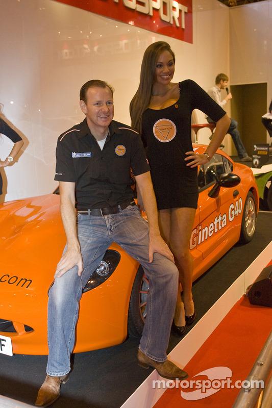 Lawrence Tomlinson onthult de nieuwe Ginetta sportscar