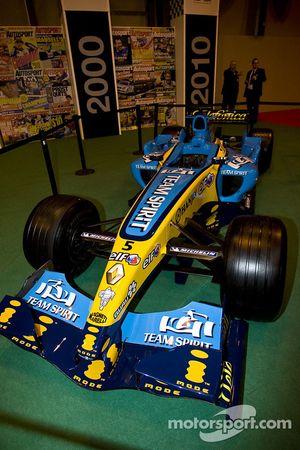 La macchina di Fernando Alonso vincitrice del campionato di F1 2005