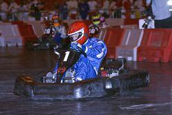 Celebrity kart event driver number 1