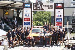 Podio de autos: lugar 11, Leonid Novitskiy y Andreas Schulz