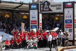 Auto's podium: Carlos Sousa en Matthieu Baumel