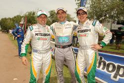 Guilherme Spinelli, Carlos Sousa y Filipe Palmeiro