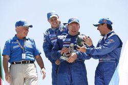 Trucks podium: 2de Firdaus Kabirov, Aydar Belyaev en Andrey Mokeev